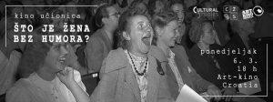 """Održana treća u nizu predavačko-filmska večer """"Što je žena bez humora?"""""""